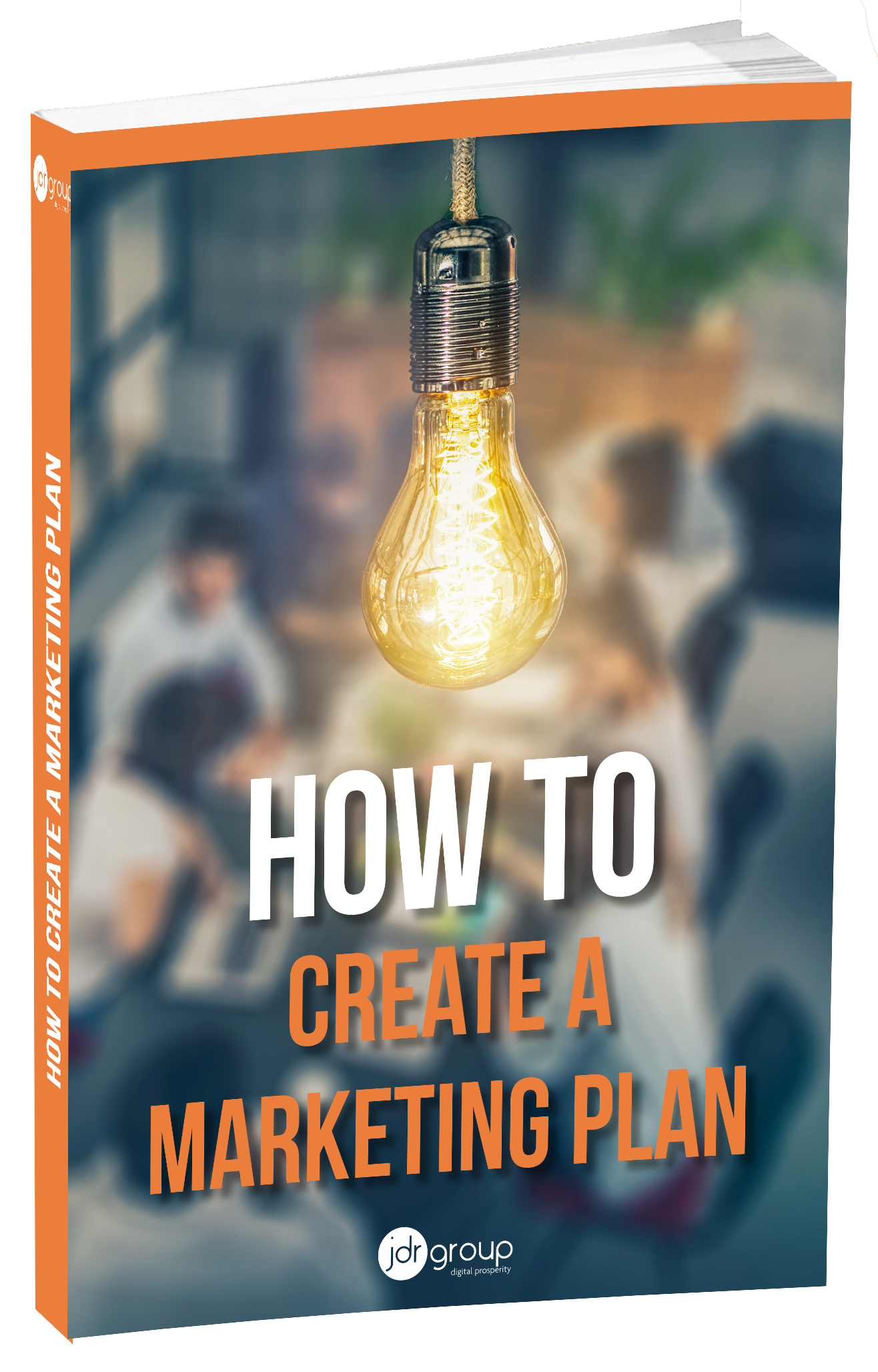 How to create a marketing plan Cover-1